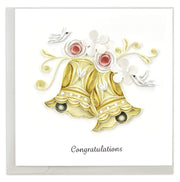 Wedding Bells Quilling Card