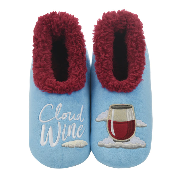 Cloud Wine Snoozies Slippers