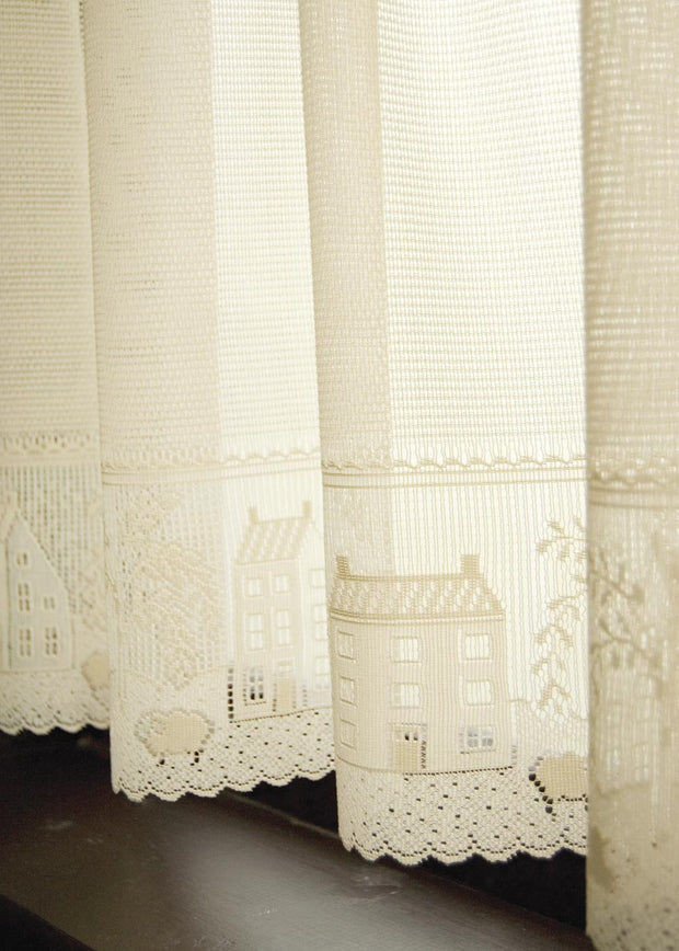 Country Willow Curtain Collection Cafe - Heritage Lace