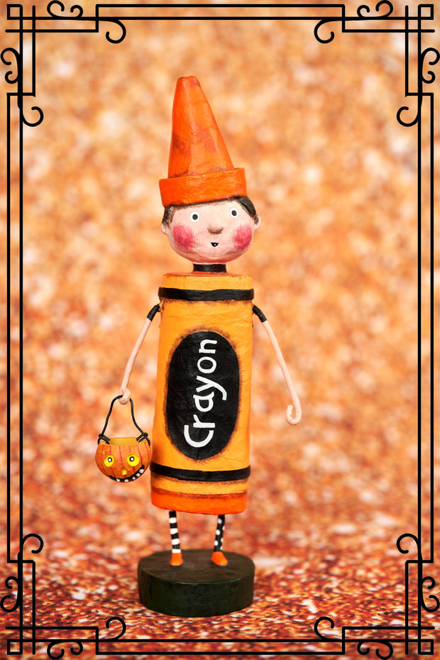ESC & Co Orange Crayon by Lori Mitchell