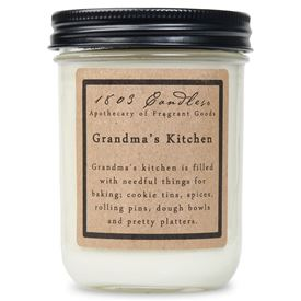 1803 Christmas Collection Jar Candles