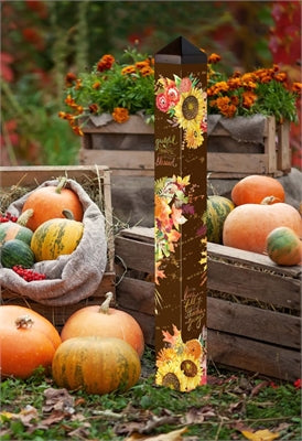 "Grateful Bouquet 40"" Art Pole"
