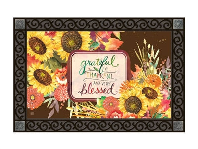 Grateful Bouquet MatMate Insert