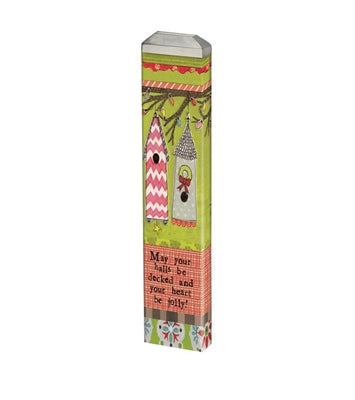 "Jolly Heart 13"" Mini Art Pole"