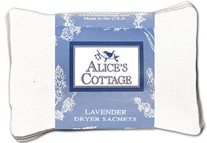 Set of 3 Lavender Dryer Sachets