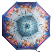 Kittens Ahoy Reverse Close Umbrella