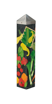 "Farmers Market 20"" Art Pole"