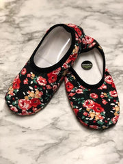 Plush Florals Snoozies Skinnies