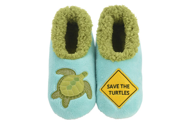 Save the Turtles Snoozies Slippers