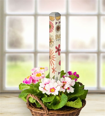 "Simple Life 16"" Mini Art Pole"