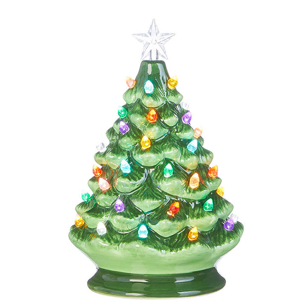 Vintage Lighted Tree