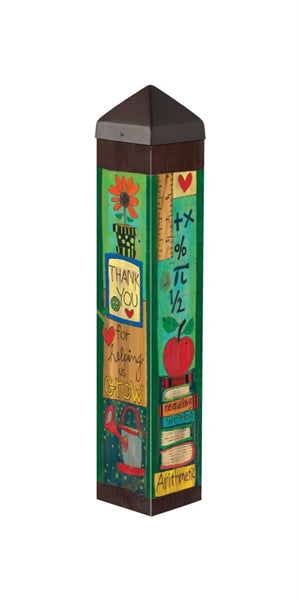 "Teacher 20"" Art Pole"