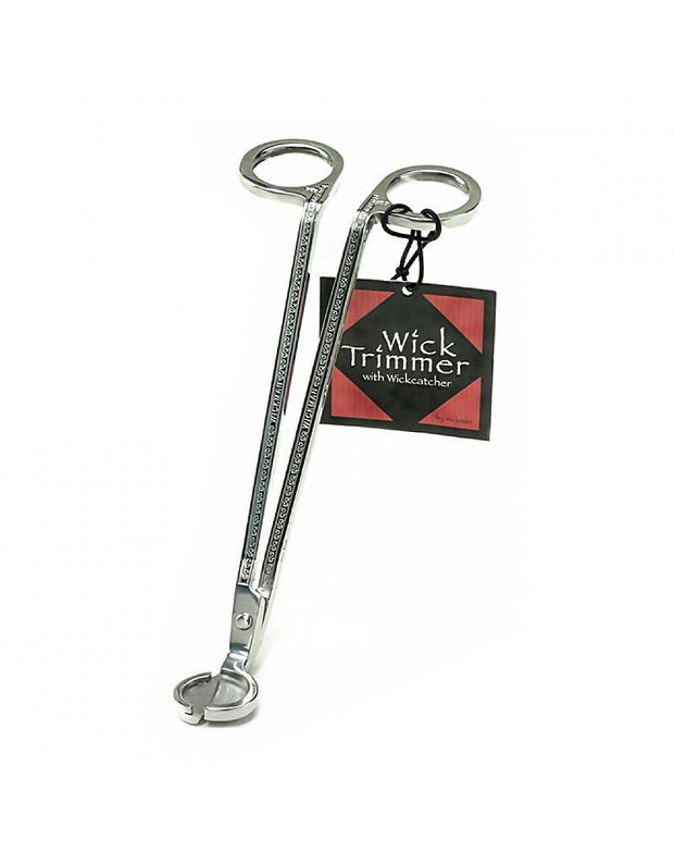 Stainless Steel Silver Wick Trimmer