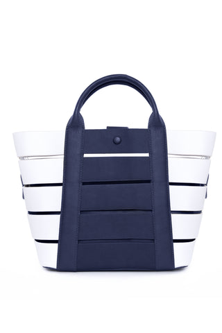 Navy & White Tote Bag