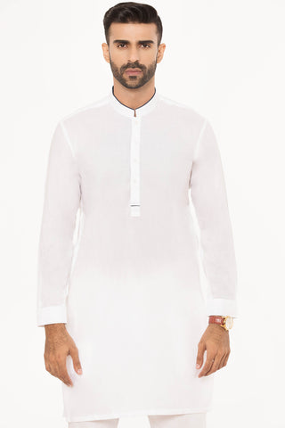 Navy Edges Kurta