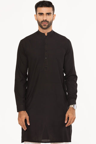 Sleek Midnight Kurta