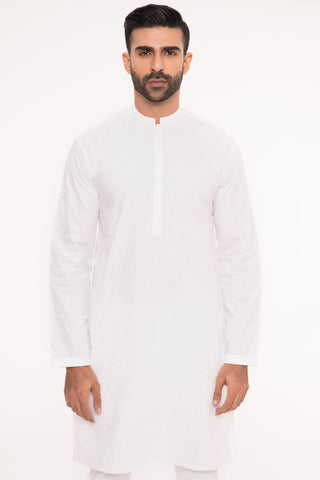 Simply White Kurta