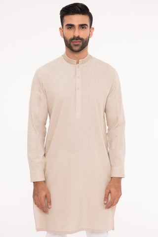 Brilliant Beige Kurta