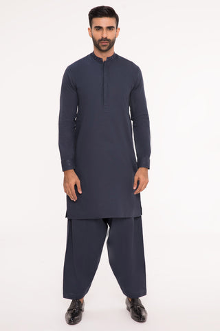 Hues of Midnight Kurta