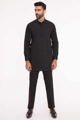 Black Kurta and Shalwar