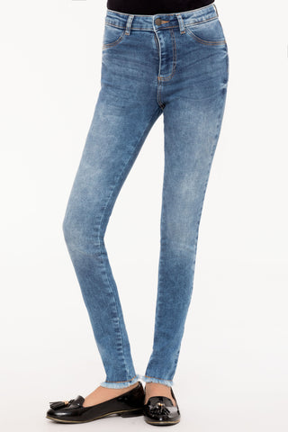 Light Wash Classic Skinny Jeans
