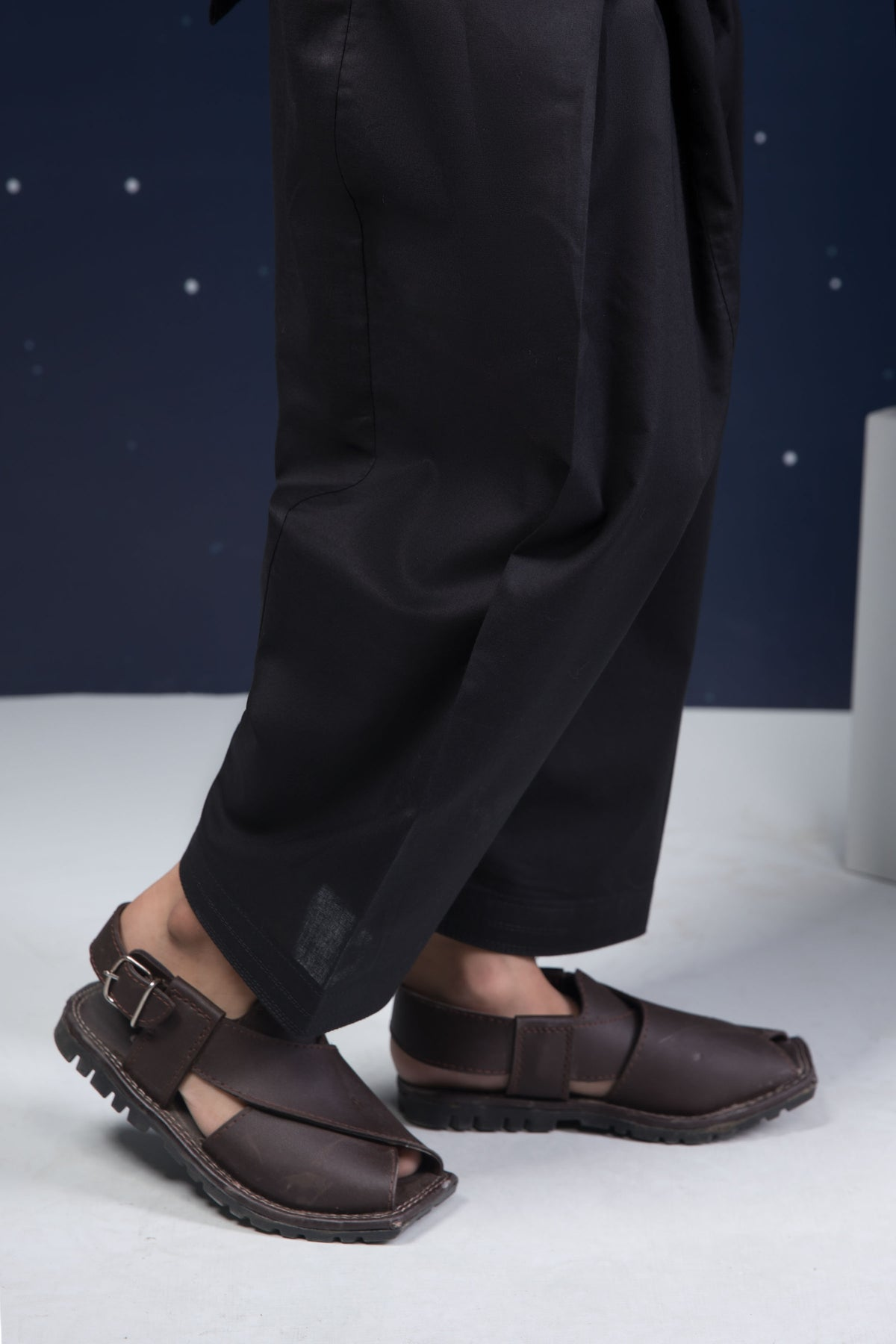 Plain Black Shalwar Kids