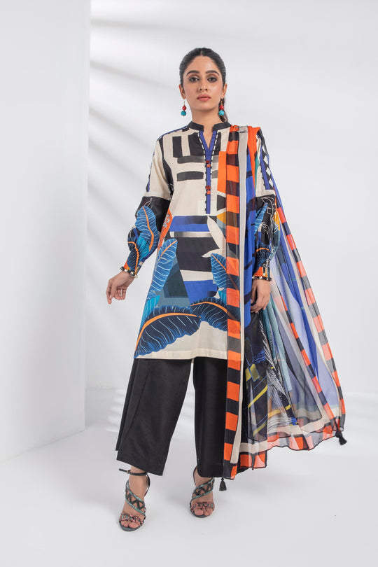 Sapphire Eclectic Blue Eid Ready To Wear