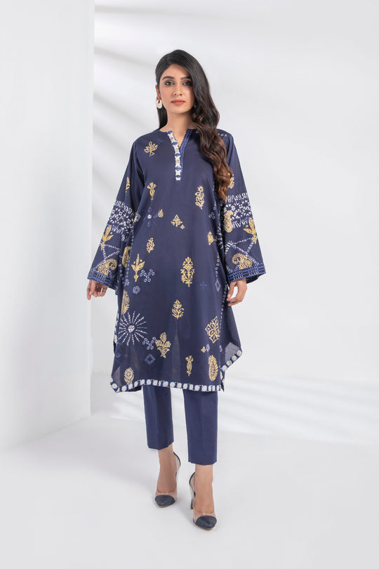 Sapphire Navy Dyed Eid Ready To Wear