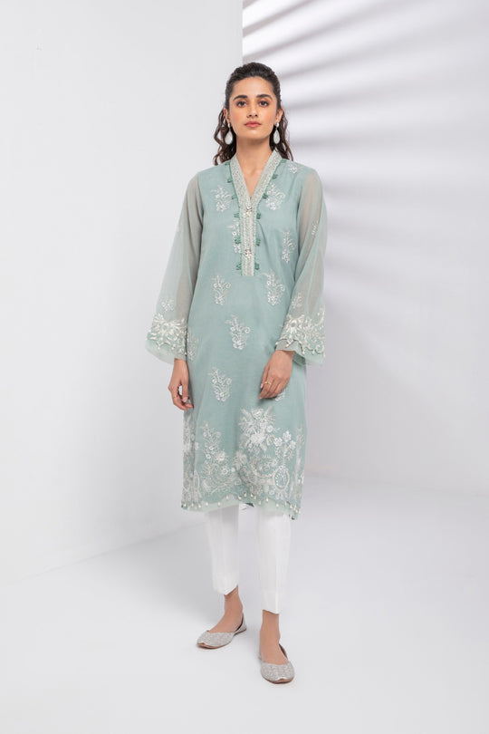 Sapphire Teal Torrent Eid Ready To Wear