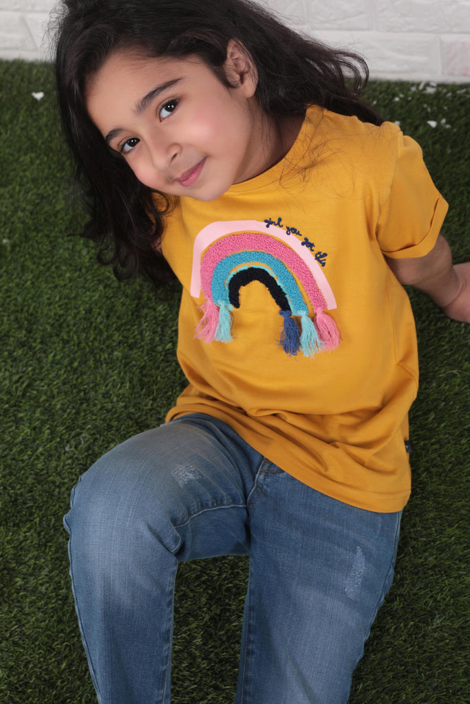Golden Rainbow T-shirt