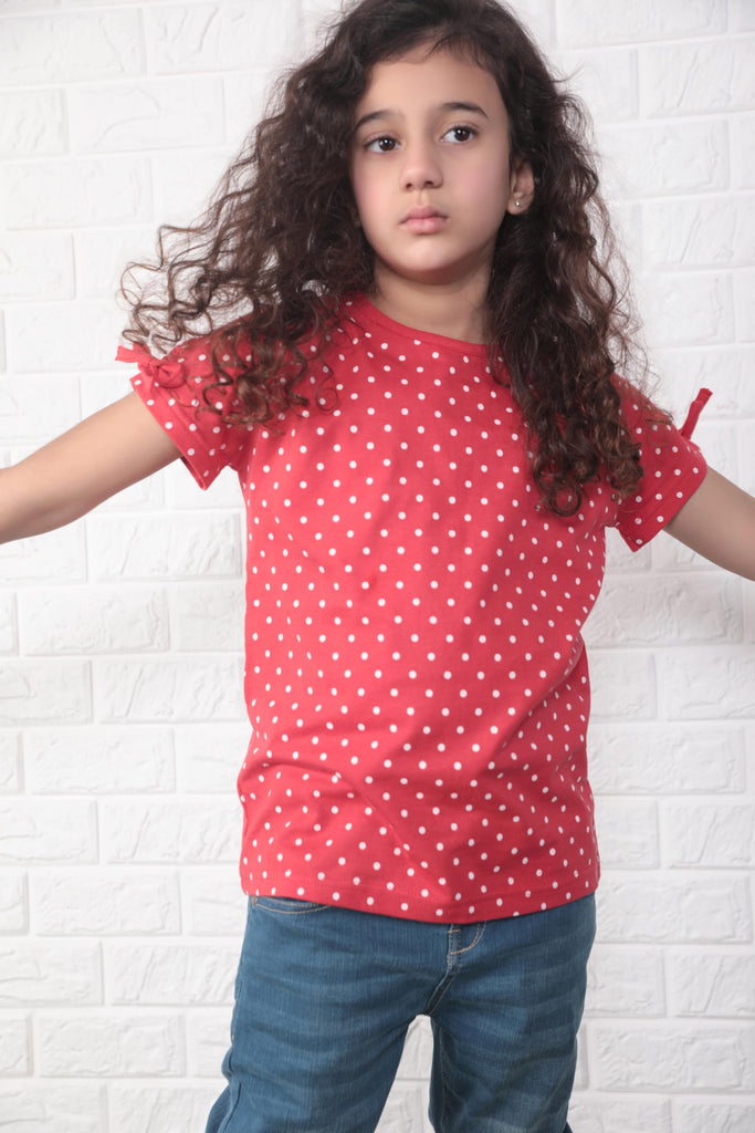 Red Polka Dot T-Shirt