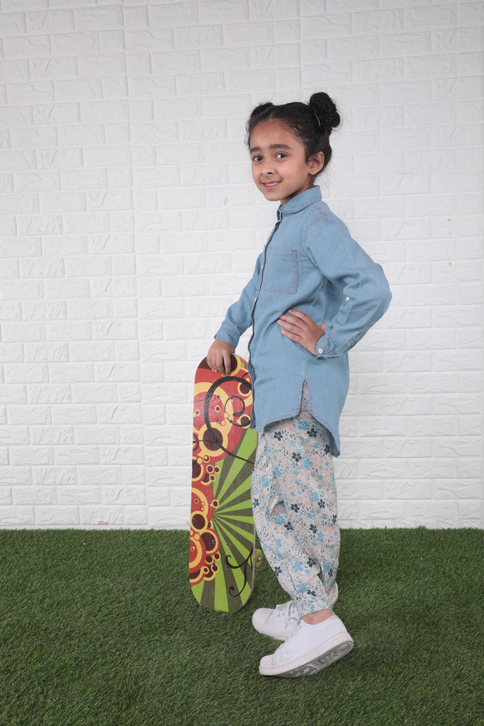 Printed Balloon Pants B