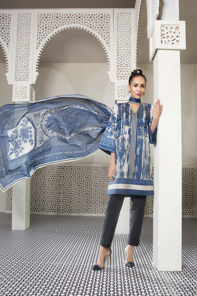 Kaline B Sapphire Lawn Collection