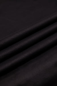 Jet Black Cambric Trouser