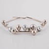 Pearls Silver Grey Necklace