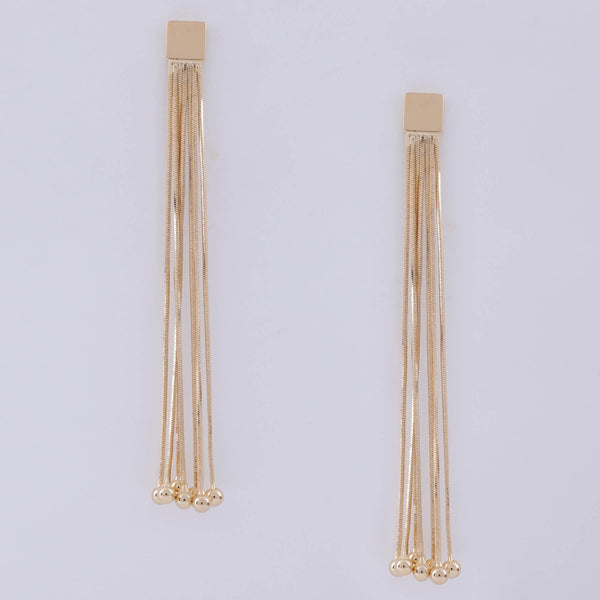 Dazzle Gold Earrings