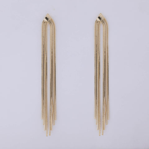 Gold Art Deco Earring