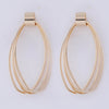 Gold Tangled Hoop Tops