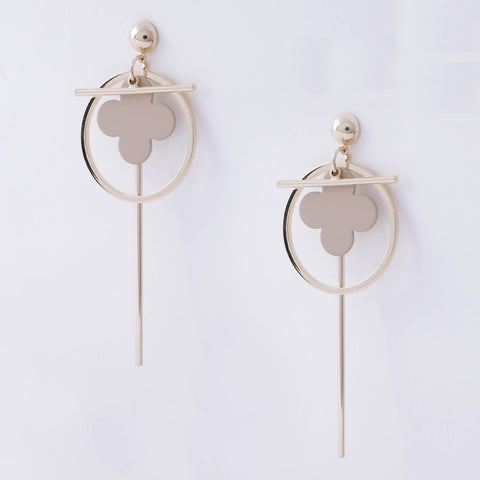 Polished Sphere Earrings