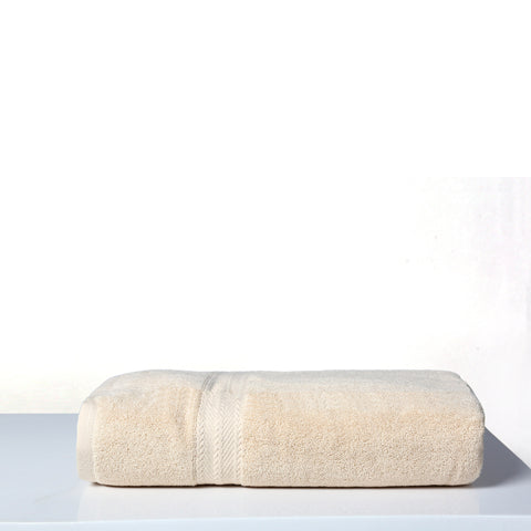 Bath Towel Solid Dyed-Beige