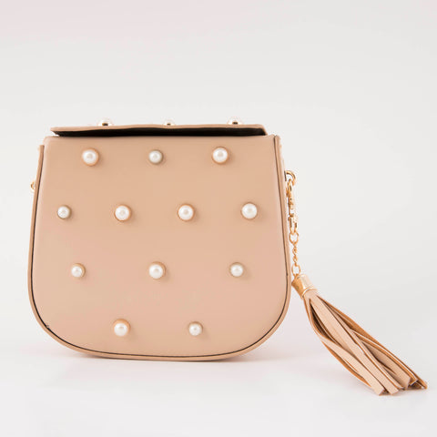 Beige Jazz Clutch