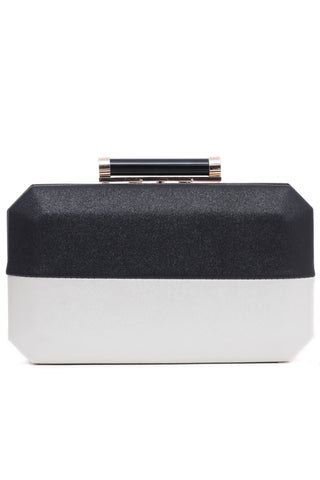 Black and White Hard Clutch