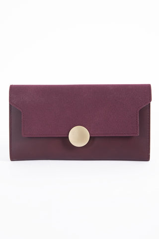 Maroon Soft Clutch