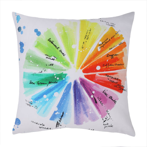 Color Wheel - Cushion Cover