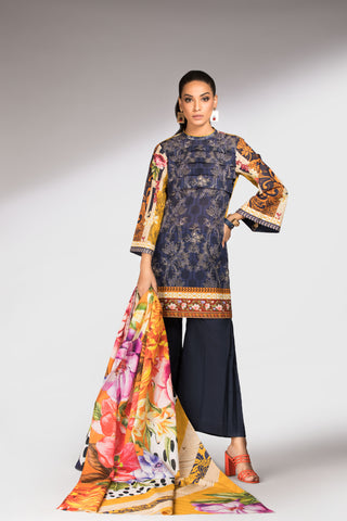 Color Punch Dupatta