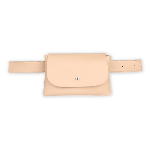 Beige Traveler Cross Body