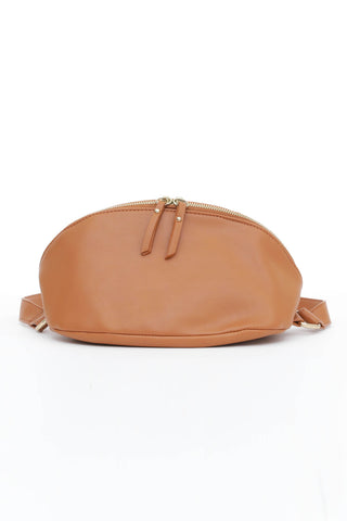 Camel Brown Cross Body