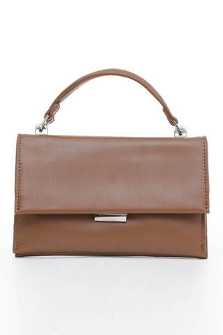 Brown Handle Cross Body