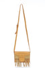 Tan Tassel Cross Body