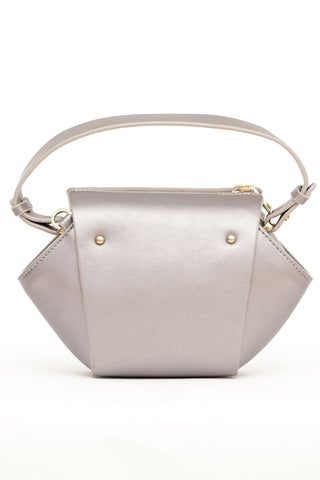 Gold & Grey Cross Body Bag